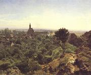 Ferdinand Georg Waldmuller Waldmuller View of Modling (nn02) oil painting reproduction