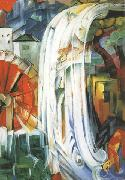 Franz Marc The Bewitched Mill (mk34) oil painting picture wholesale