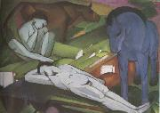 Franz Marc Shepherds (mk34) oil painting picture wholesale