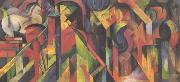 Franz Marc Stables (mk34) oil painting picture wholesale