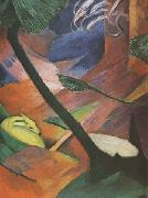 Franz Marc Deer in the Forest (mk34) oil painting picture wholesale
