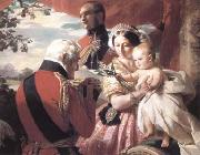 Franz Xaver Winterhalter The First of Mays (mk25) oil painting picture wholesale