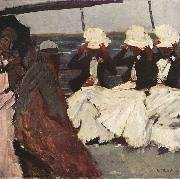 George Hendrik Breitner Three Women on Board (nn02) oil painting artist