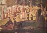 Georges Seurat Sunday Afternoon on the island of the Grande Jatte (nn03) oil painting picture wholesale