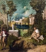 Giorgione The Tempest (nn03) oil painting artist