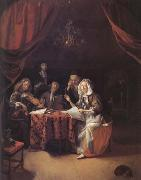 Godfried Schalcken A Family Concert (mk25 oil painting picture wholesale