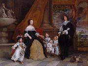 Gonzales Coques The Family of Jan Baptista Anthonie (mk25` oil painting picture wholesale