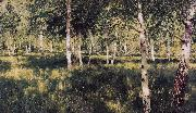 Isaac Ilich Levitan Birch Grove (nn02) oil painting picture wholesale
