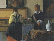 Jan Vermeer Johannes Vermeer (mk30) oil painting picture wholesale