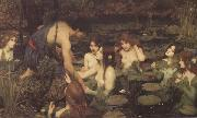 John William Waterhouse Hylas and the Nymphs (mk41) oil painting picture wholesale