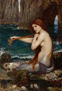 John William Waterhouse A Meraid (mk41) oil painting picture wholesale