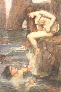 John William Waterhouse The Siren (mk41) oil painting picture wholesale