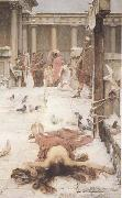 John William Waterhouse St Eulalia (mk41) oil painting picture wholesale