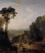 Joseph Mallord William Turner Crossing the brook (mk31) oil painting picture wholesale