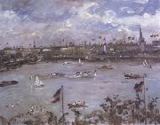 Lovis Corinth Emperor's Day in Hamburg (nn02) oil painting