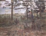 Lovis Corinth Fishermen's Cemetery at Nidden (nn02) oil painting