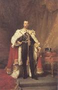 Luke Fildes George V 1912 (mk25) oil painting artist