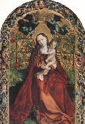 Martin Schongauer The Madonna of the Rose Garden (nn03) oil painting picture wholesale
