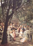 Max Liebermann Beer Garden in Munich (nn02) oil painting picture wholesale