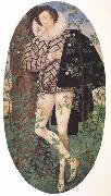 Nicholas Hilliard Young Man Leaning Against a Tree (nn03) oil painting picture wholesale