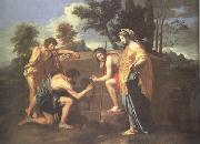 Nicolas Poussin The Arcadian Shepherds (nn03) oil painting picture wholesale