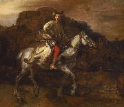 REMBRANDT Harmenszoon van Rijn The Polish rider (mk33) oil painting picture wholesale