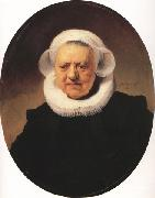 REMBRANDT Harmenszoon van Rijn Portrait of an eighty-three year-old Woman (mk33) oil painting picture wholesale