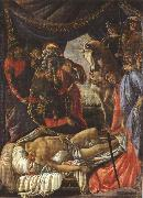 Sandro Botticelli Discovery of the Body of Holofernes (mk36) oil painting picture wholesale
