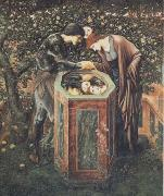 Sir Edward Coley Burne-Jones The Baleful Head (mk28) oil painting picture wholesale