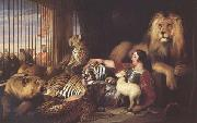 Sir Edwin Landseer Isaac Van Amburgh and his Animals (mk25) oil painting picture wholesale