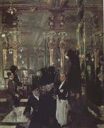 Sir William Orpen The Cafe Royal in London (nn03) oil painting artist