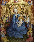 Stefan Lochner The Coronation of the Virgin (nn03) oil painting picture wholesale