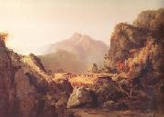 Thomas Cole scene from Last of the Mohicans (nn03) oil painting picture wholesale