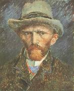 Vincent Van Gogh Self-Portrait with Grey Felt Hat (nn040 oil painting picture wholesale