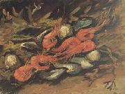 Vincent Van Gogh Still life wtih Mussels and Shrimps (nn04) oil painting picture wholesale