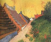 Vincent Van Gogh Street in Saintes-Maries (nn04) oil painting picture wholesale