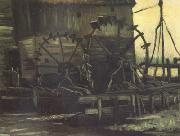 Vincent Van Gogh Water Mill at Gennep (nn04) oil painting picture wholesale