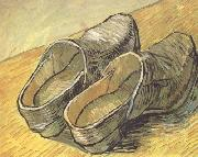 Vincent Van Gogh A pair of wooden Clogs (nn04) oil painting picture wholesale