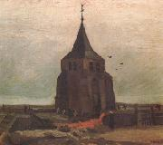 Vincent Van Gogh The Old Church Tower Nuenen (nn04) oil painting picture wholesale