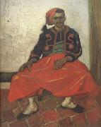 Vincent Van Gogh The Seated Zouave (nn04) oil painting picture wholesale