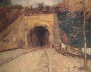 Vincent Van Gogh Roadway wtih Underpass (nn04) oil painting picture wholesale