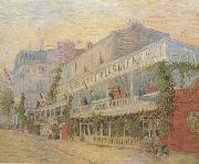 Vincent Van Gogh Restaurant de la Sirene at Asnieres (nn04) oil painting picture wholesale
