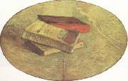 Vincent Van Gogh Still Life wtih Three Books (nn04) oil painting picture wholesale
