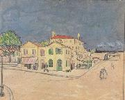 Vincent Van Gogh Vincent's House in Arles (nn04) oil painting picture wholesale