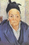 Vincent Van Gogh An Old Woman of Arles (nn04) oil painting picture wholesale