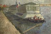 Vincent Van Gogh Bathing Float on the Seine at Asnieres (nn04) oil painting picture wholesale