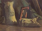 Vincent Van Gogh Still Life with Two Sacks and a Bottle (nn040 oil painting picture wholesale