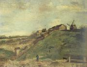 Vincent Van Gogh Montmartre:Quarry,the Mills (nn040 oil painting picture wholesale