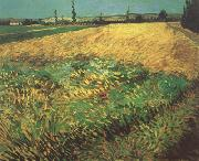 Vincent Van Gogh Wheat Field with the Alpilles Foothills in the Background (nn04) oil painting picture wholesale