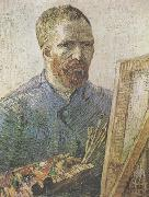 Vincent Van Gogh Self-Portrait in Fromt of thte Easel  (nn04) oil painting picture wholesale